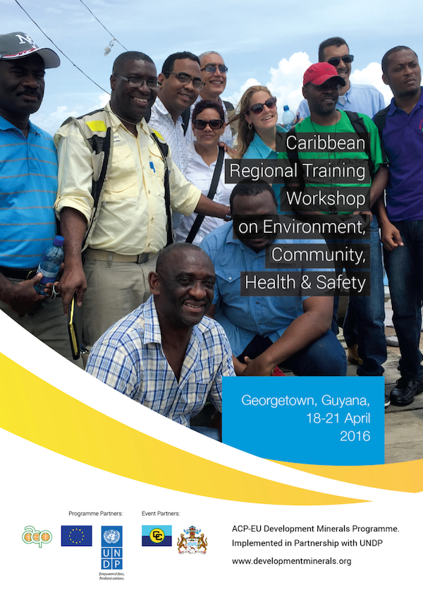 Caribbean Regional Training Workshop on Environment, Community, Health & Safety