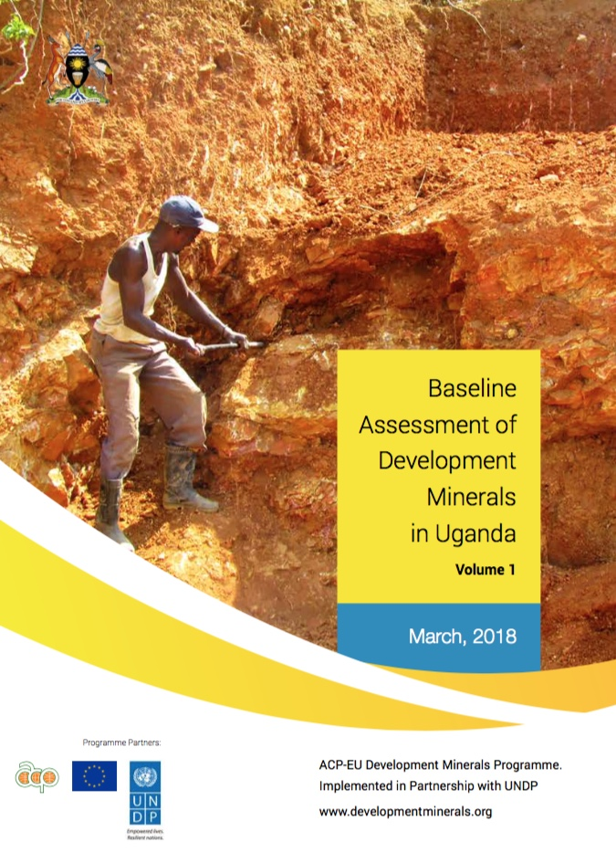Baseline Assessment of Development Minerals in Uganda - Vol.1